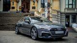 FOTO: Rīgā ar vērienu prezentēts Jaunais Audi A7 Sportback!