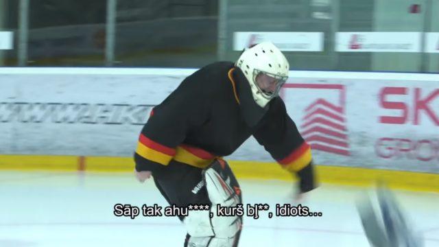 VIDEO: Lauris Dārziņš pamatīgi iešķeļ Jānim Skutelim…