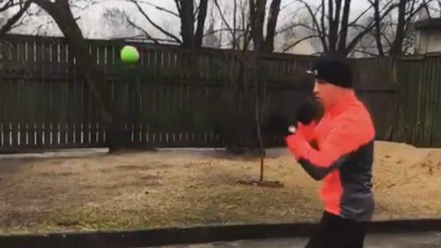 VIDEO: Nedaudz amizanti! Kā Mairis Briedis gatavojas gaidāmajai cīņai!?