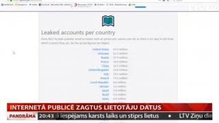 VIDEO: Internetā publicēts milzīgs apjoms zagtu e-pastu un to paroles! Arī no Latvijas!